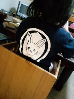 麿紋うさぎTシャツ