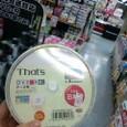 錦糸町ヨドバシカメラにて2層式DVD購入☆